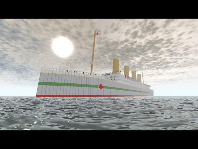 The Sinking Of The Britannic Roblox видео онлайн гамма Roblox Britannic Sinking Youtube