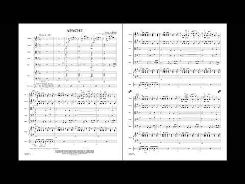 Apache by Jerry Lordan/arranged by Larry Moore