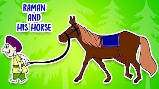 Tenali Raman Stories In Hindi   Raman And His Horse    Cartoon Stories For Kids - 4   Kahaniyaan