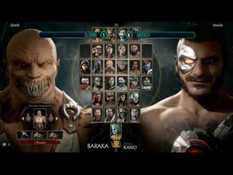 Moulu (Kano) Vs DjOn6 (Baraka) - Mr Aquaman Tournament - 【Mortal Kombat 11】