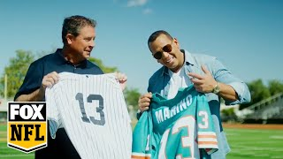 A-Rod On Meeting Dan Marino For The First Time, Playing Football, More | FOX NFL