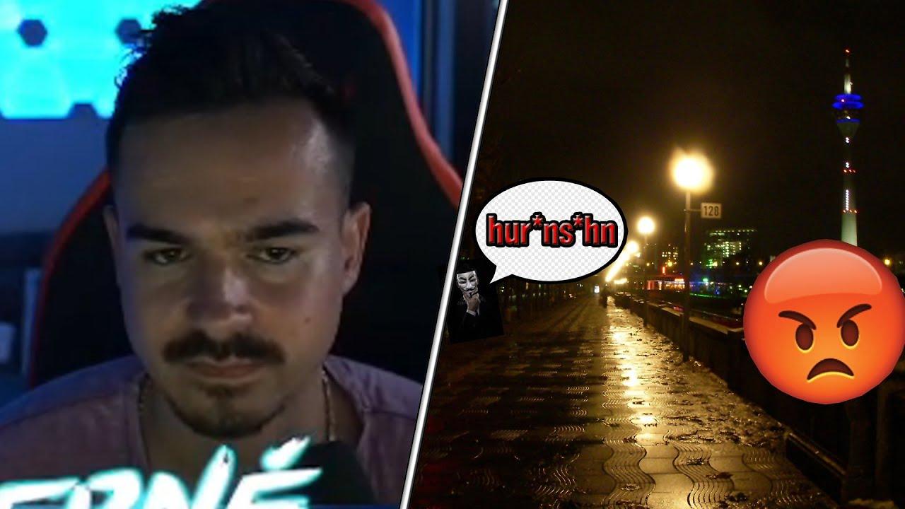 STRESS mit ZUSCHAUER!?😡 Erné wird von HATER BELEIDIGT..