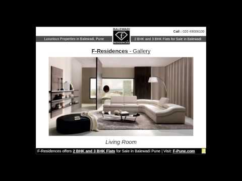2 BHK and 3 BHK Apartments in Balewadi Pune by F-Residences