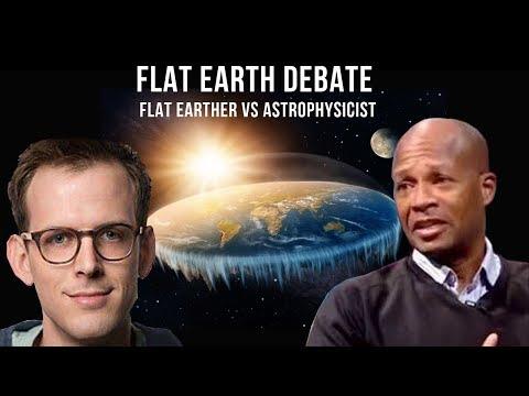 (Flat Earth Debate) Flat Earther vs Astrophysicist thumbnail