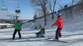 Gillete Adaptive Ski Day At Buckhill