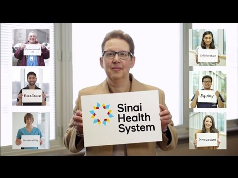 Sinai Health System: Our Vision, Mission and Values