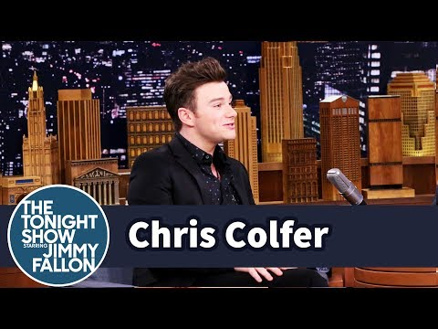 Chris Colfer Claims He Was Visited by an Alien