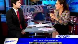 [ANC Headstart] Rep. Manny Pacquiao on boxing, politics, faith 1/2