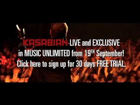 Kasabian Exclusive Sony Entertainment Network UK V1