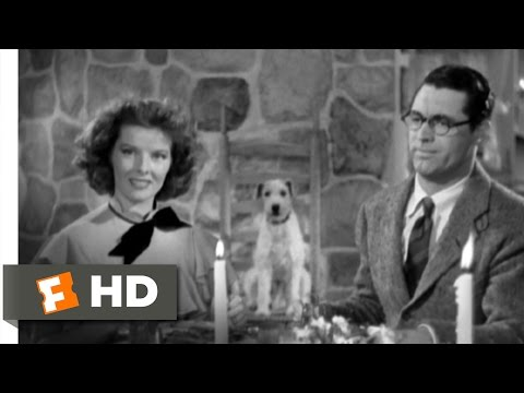 Bringing Up Baby (6/9) Movie CLIP - Dinner with a Loon (1938) HD