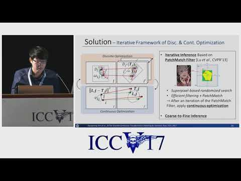 DCTM: Discrete-Continuous Transformation Matching for Semantic Flow