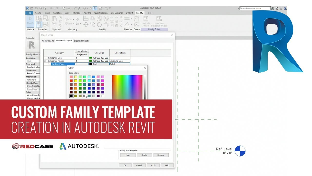 How to Create a Custom Family Template in Autodesk Revit
