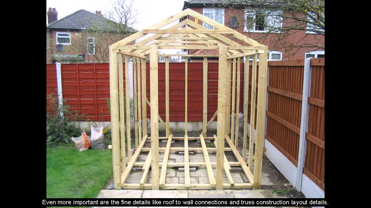 ^ shed dormer plans - Youube