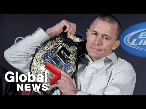 """""""There are no tears"""": GSP announces his retirement from MMA"""