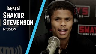 Shakur Stevenson Is Ready For Vasyl Lomachenko | SWAY'S UNIVERSE