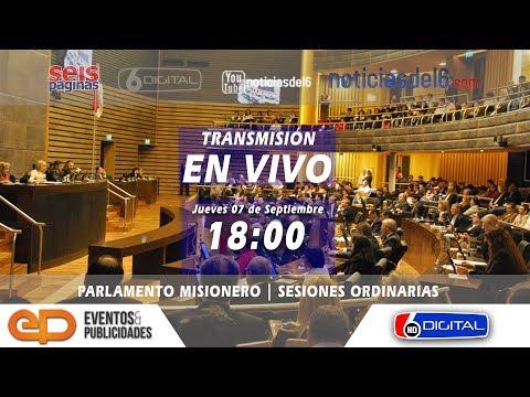 07-09-17 | Transmisión EN VIVO Legislatura Provincial