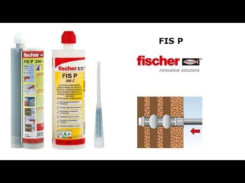 Химический анкер для кирпичной кладки FIS P