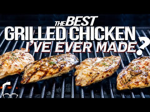 THE BEST GRILLED CHICKEN I'VE EVER MADE? | SAM THE COOKING GUY 4K