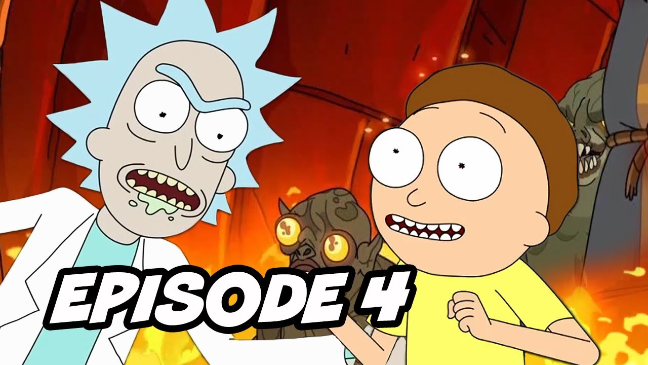 Download Rick and Morty Season 4 Episode 4 - TOP 10 WTF and Easter Eggs