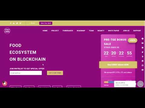 CIBUS IS POISED TO CREATE FRESH REVOLUTION WITH BLOCKCHAIN ENABLED FOOD ECOSYSTEM 2 0 FOR 21ST CENTU