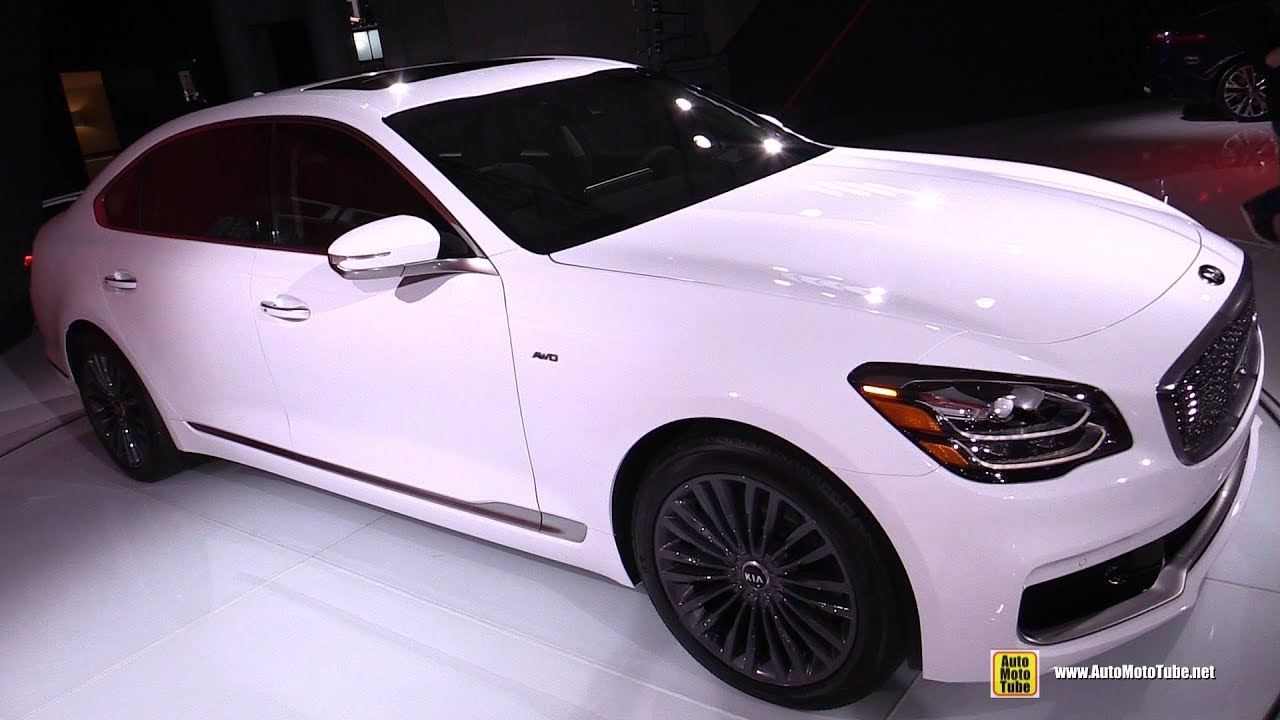 2019 Kia K900 Exterior And Interior Walkaround 2018 New York