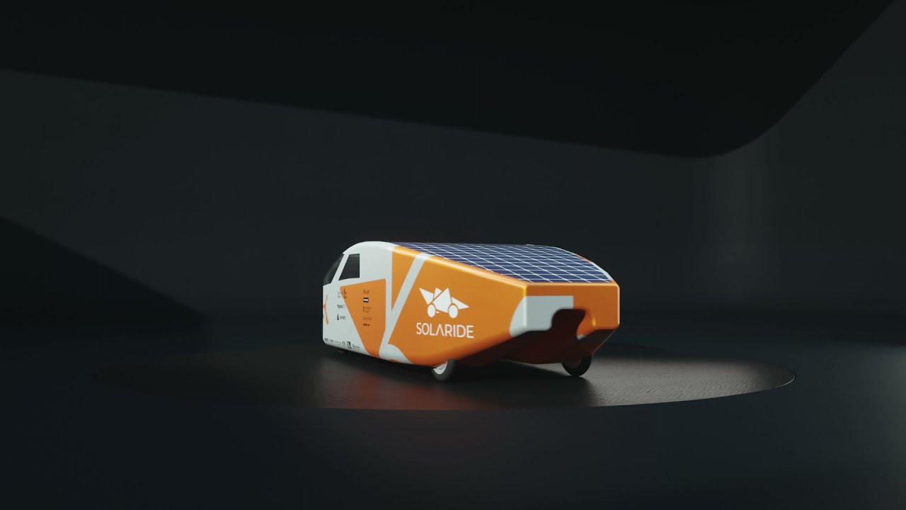 Solaride solar car 3D