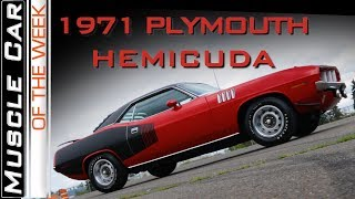 1971 Plymouth Hemi Cuda : Muscle Car Of The Week Video Episode 305 V8TV