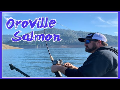 LAND LOCKED KING SALMON FISHING | LAKE OROVILLE