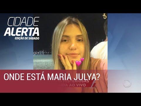 Caso Maria Julya: adolescente de 15 anos some e pais fazem apelo ao vivo