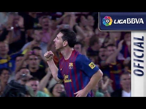 Highlights FC Barcelona (5-0) Atlético de Madrid 2011 - 2012 - HD