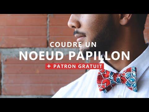 plus grand choix de vente discount 2019 meilleurs COUDRE et NOUER UN NOEUD PAPILLON CLASSIQUE en WAX + PATRON ...