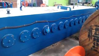HXE-400/13DL Aluminium rod breakdown machine in Tanzania (1)