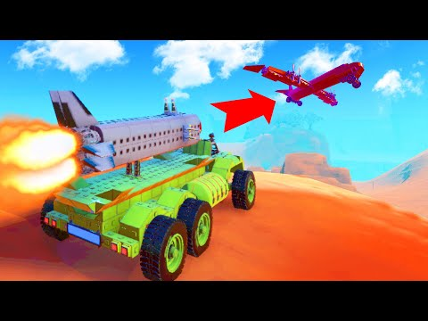 Take Down The AIRPLANE Challenge! (Trailmakers)