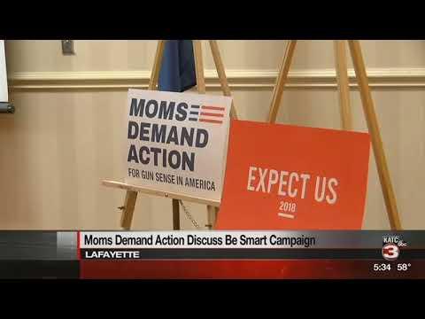 Moms Demand Action Lafayette celebrates 5th anniversary