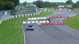 Petter Solberg in the Fiesta WRC at Castle Combe Rally Day 18/08/12