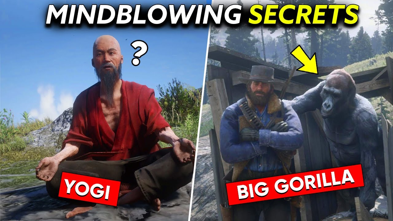 10 *MINDBLOWING* SECRETS OF RED DEAD REDEMPTION 2 THAT WILL BLOW YOUR MIND   WATCH AT YOUR OWN RISK!