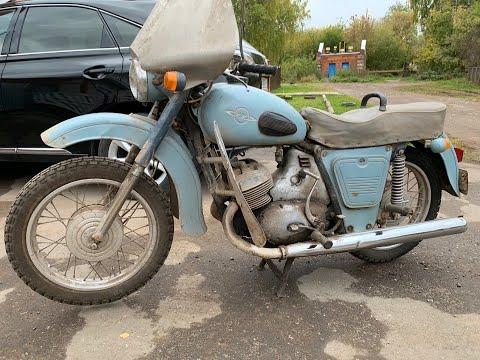 Купили старый Иж Юпитер-2 1971 // Нашли мотоцикл в чермете