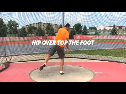 2 Spin Drills For Discus Throw