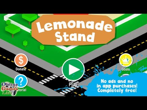 Lemonade Stand Android Gameplay