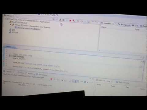 FreeRTOS + Terminal + Led on board stm32f4 discovery - YouTube