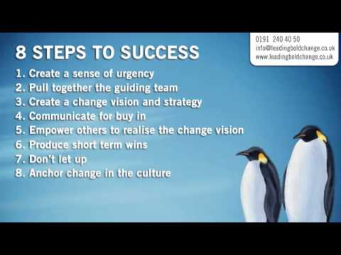 summary our iceberg is melting by john kotter 2014-9-4  transcript of our iceberg is melting - kotter's 8 steps for change kotter's 8 steps process for change steps 1-4 challenge the  our iceberg is melting.
