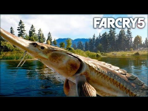 TRYING TO CATCH THE ALBINO FISH - Far Cry 5 Gameplay And Funny Moments - (Xbox One X)