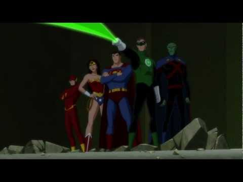 Justice League Doom Arrives Official Clip # 2