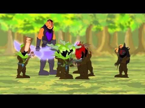 видео: dota 2 Репортаж  Начало битвы(Смешной мультик