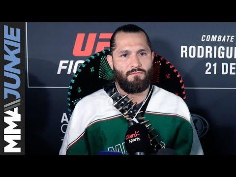 Jorge Masvidal: Full UFC Mexico guest fighter media scrum