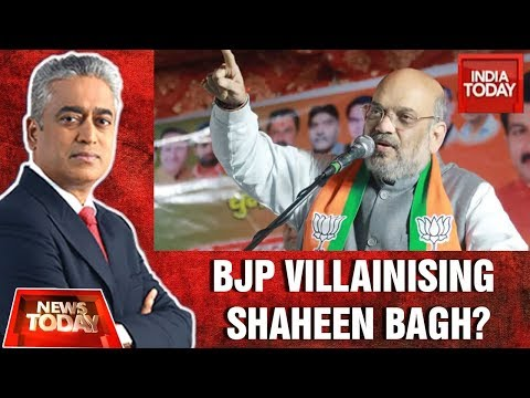 Is BJP Villainising Shaheen Bagh And Polarise Delhi Ahead Of Polls? | News Today With Rajdeep