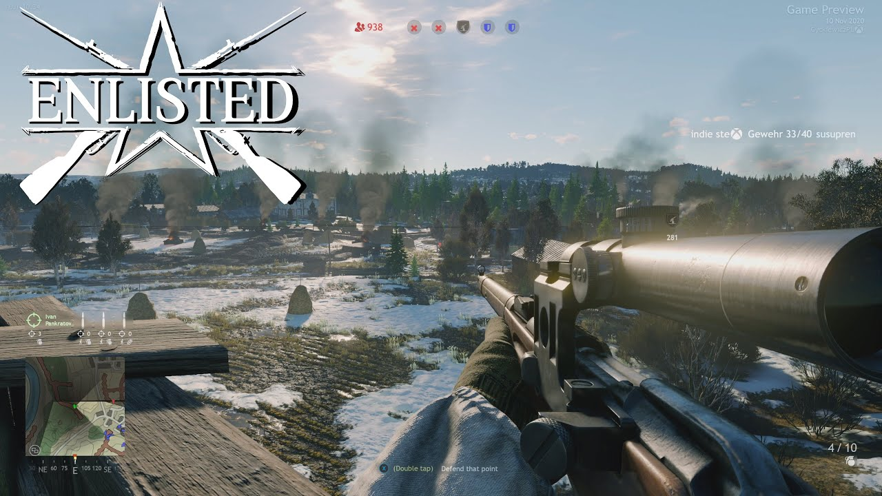 Enlisted Game Preview Xbox Series S Gameplay - YouTube