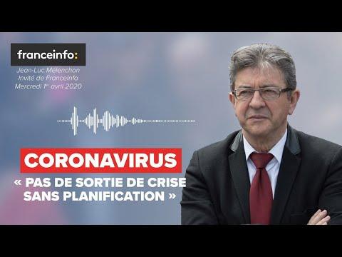 CORONAVIRUS : «Pas de sortie de crise sans planification»
