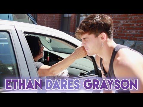 Ethan DARES Grayson!