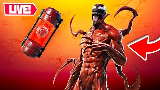 *NEW* CARNAGE MYTHIC UPDATE!! Winning in Solos! (Fortnite)